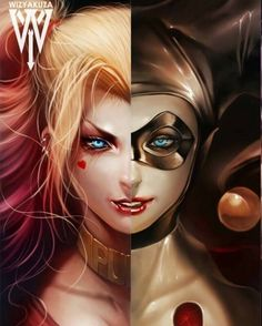 « #HarleyQuinn by @WizYakuza --Be your own Whyld Girl with a wicked tee today! http://whyldgirl.com/tshirts