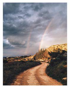 Hacia el arco iris #naturaleza #Calblanque #Murcia #España #Spain #hiking #senderismo #vscocam #vscoespana #vsco #landscape #camino