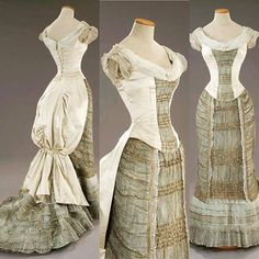 Costume worn by Winona Ryder from The Age of Innocence, 1993. Costume design by Gabriella Pescucci. Tirelli Costumes