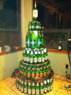 The most creative Christmas tree I've ever seen. This is amazing.