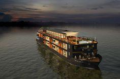 Un crucero fluvial de lujo entre Camboya y la República de Siám