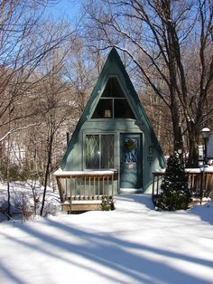 Riverwood Chalet - circa 1973, an A-Frame on the Middle Fork of the New River: ...