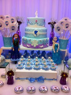 Festa frozen / Frozen Party #buffetconteoutravez
