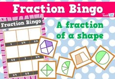 Fraction Bingo - quarters half and whole :: Teacher Resources and Classroom Games Activity Games, Math Activities, Fraction Bingo, Teaching Fractions, Maths, Classroom Games, Numeracy, Teacher Resources, Mathematics