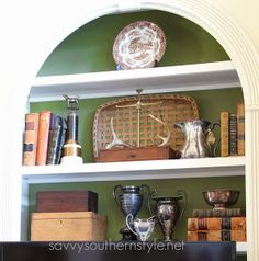 Savvy Southern Style: French Country Styled Shelves