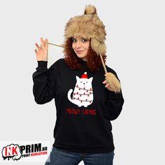 Hanorac Craciun Meowy Catmas pentru iubitorii de pisici Hoodies, Sweatshirts, Revolution, Diana, Christmas Sweaters, Style, Fashion, Swag, Moda