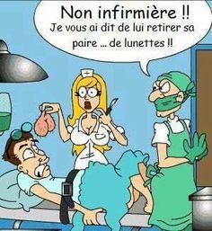 Quand un infirmière n'écoute pas ce que le docteur dit... #castration #humour