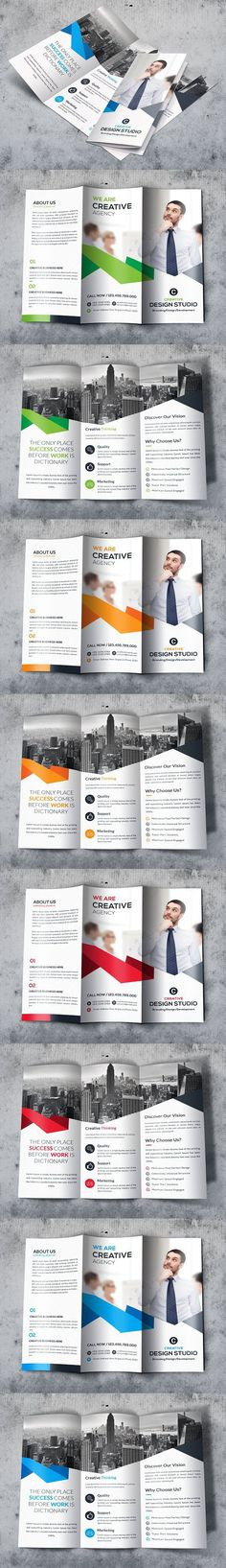 Trifold. Brochure Templates