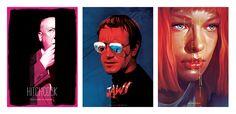 Los carteles de cine de Flore Maquin