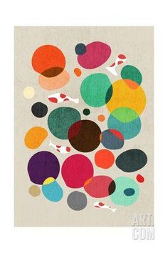 Lotus in Koi Pond Giclee Print by Budi Kwan at Art.co.uk