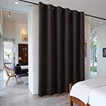 Ryb Home Thermal Insulated Blackout Curtain Blind Decoration Adjustable Room Divider Lar Room Divider Curtain Living Room Blinds Curtains With Blinds