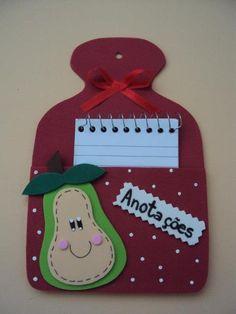 Sala da Educação: Lembrancinhas para o dia das mães - Porta recado.