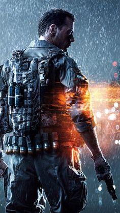 Battlefield 4 Soldier iPhone 6 Wallpaper