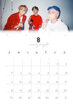 Bts Calendar, Calendar 2019 Printable, Custom Calendar, Calendar Pages, 2021 Calendar, Printable Planner, Free Printables, Calendar Ideas, Kpop Logos