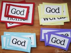 a great way to teach your children the words to all 4 verses in I AM A CHILD OF GOD