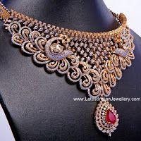 Peacocks Grand Diamond Necklace