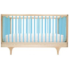 No need for crib bumpers here. Super cute....super spendy...but it converts to a toddler bed to ease the financial drain a bit