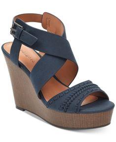38585c6f8e2 Kash Wedge Sandals   Reviews - Sandals   Flip Flops - Shoes - Macy s