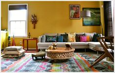 the east coast desi: Living In Color (Home Tour)