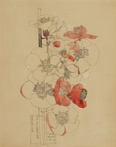 charles rennie mackintosh mixed flowers 1925 - Google Search