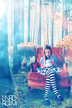 Alice in Wonderland by LeoRiq.deviantart...