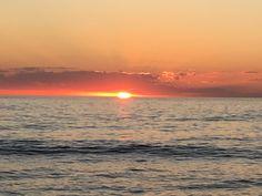 Amazing sunset Punta del este Uruguay