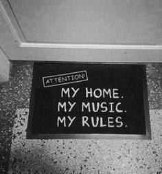 My Rules!!