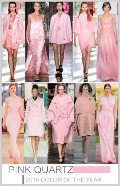 Pantone revelou o Quartzo Rosa como a cor oficial de 2016.  Color of the year - Pink Quartz!