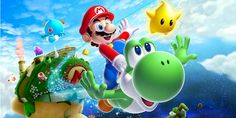 Super Mario Galaxy 2 Headed to Wii U - https://techraptor.net/content/super-mario-galaxy-2-headed-wii-u | Gaming, News