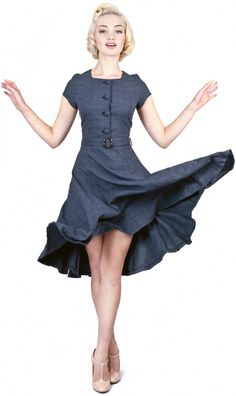 Simone Houndstooth Doll Dress
