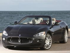 But the Italians know what they doing with cars! Maserati grancabrio 2010