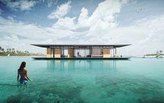 Residência de luxo pode ser transportada para qualquer lugar, desde que esteja no mar