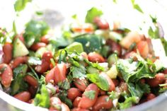Kidney Bean and Cilantro Salad 4