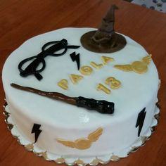 Torta Harry Potter pasta di zucchero