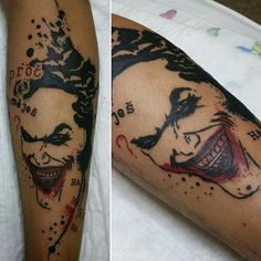 MY FIRST TATTO! Joker,  why so serious