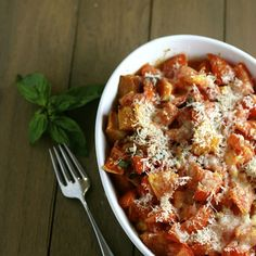 Garlicky Scalloped Tomatoes | My Daily Morsel