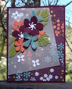 Botanicals Blooms Over Vellum