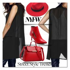 """NYFW Street Style"" by jecakns ❤ liked on Polyvore"