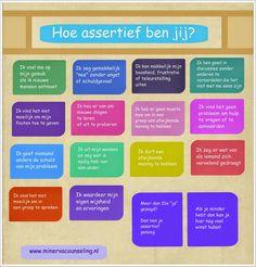 Minerva Blog: Hoe assertief ben jij?