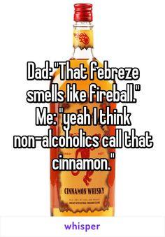 liquor with no smell