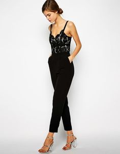 lace jumpsuit... dig it