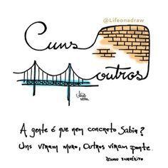 Muros x Pontes @lifeonadraw