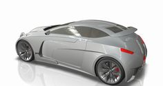This is a proposed coupe model, based on Bugatti's characteristics such as nobility, elegance, powerness. Trimming is based on every single designing line, making the effect of several panels assembled one next to other by a thick gap.