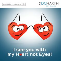 See You, Are You The One, Anti Glare Glasses, Optician, Happy Valentines Day, Eyewear, First Love, Frames, Heart