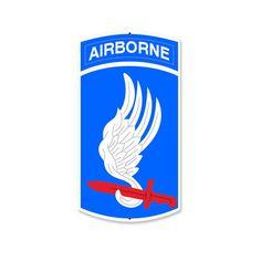 173rd Airborne Division Sign