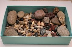 Rock Sensory Box -- we have one of these!