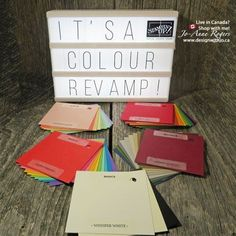 If you've heard the news, now I want to tell you why I love the 2018 Stampin Up colour revamp! Yes, there's a lot of changes but they are aALL good! Diy Paper, Paper Crafts, Retirement Cards, Beautiful Handmade Cards, Stamping Up Cards, Paper Pumpkin, Craft Items, All Design, More Fun