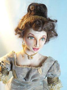 faithyhopey: Regency era cloth doll