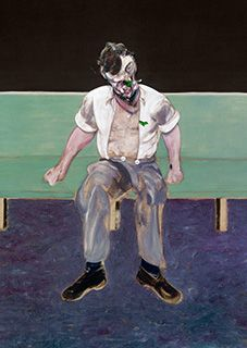Francis Bacon, Study for Portrait of Lucian Freud, 1964