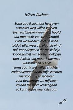 HSP en Vluchten  #hsp #vluchten http://thuisinmijnlichaam.nl/